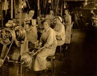 Women workers at the Portland Company, ca. 1917