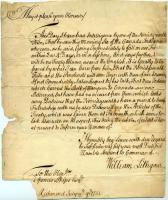 William Lithgow to Spencer Phips on treaties with Wabanaki Tribes, 1751