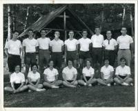 Junior counselors, Camp Lown, ca. 1960