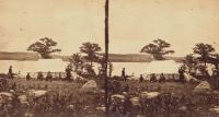 Encampment at North Bridgton, 1862