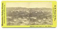 Augusta from cupola of State House, ca. 1900