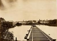 Railroad bridge, Portland, ca. 1910