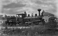 Boston & Maine Railroad's engine 'Comet'