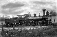 Boston & Maine Railroad's engine 'Melrose', #76