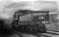 Eastern Railroad's engine #114
