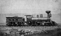 Grand Trunk Railroad's engine #234