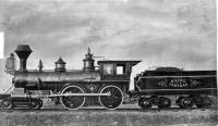 Maine Central Railroad Locomotive 'Arthur Sewall'