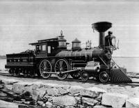 Grand Trunk Railroad engine #255