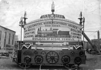 Portland Company parade float, 1886