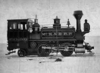 Wm. H. Glenny railroad engine