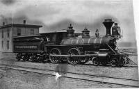 The 'Alfred' steam locomotive