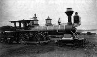 Railroad locomotive 'Worcester'