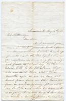 Letter seeking information on POW, Limerick, 1863