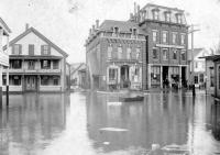 Flood in Mechanic Falls, ca. 1896