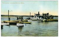 Boat landing, Lakewood Park, Madison, ca. 1915