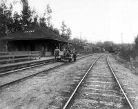 Canadian Pacific Railroad at Onawa, ca. 1900