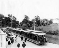 Portland Railroad company car