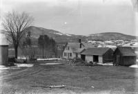 Thomas Richardson farmhouse, Strong, ca. 1890