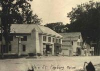 Stevens Monument, Fryeburg, ca. 1914