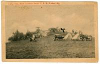 Auto camp, Lubec, ca. 1930