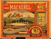 Burnham and Morrill Company Trademark for Cape Shore Brand Canned Mackerel, Portland, 1891