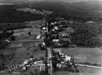 Aerial view of Lovell village