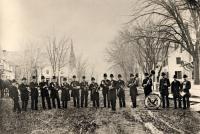 R.B. Hall's band, Richmond, ca. 1878