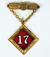 Sparrow 17th Maine medal, ca. 1866