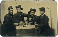 Granville Sparrow and friends, ca. 1864