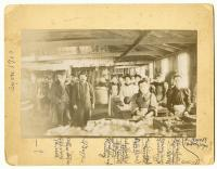 Fish factory workers, Swan's Island, ca. 1890