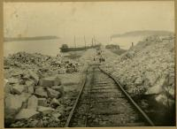 Quarry rails, Swan's Island, ca. 1900