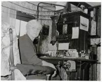 Lillian 'Lil' Smith, telephone operator for Swan's Island, ca. 1950