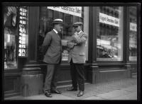 Dancause and Moore in conversation, Portland ca. 1930
