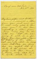 John Sheahan on talks with Rebels, Virginia, 1863