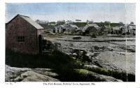 Fish houses at Perkins Cove, Ogunquit, ca. 1930