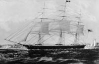 The Nightingale clipper ship
