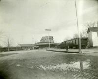 Maine Central Railroad Waterville station, ca. 1900