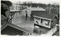 Flood at Texaco, Winslow, March, 1936
