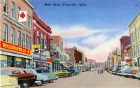 Main Street, Waterville, ca. 1940
