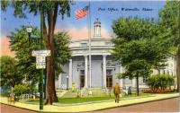 Post Office, Waterville, ca. 1940