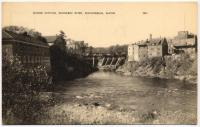 Power station, Kennebec River, ca. 1915