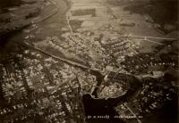 Aerial view of Skowhegan, ca. 1940