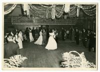 Dancers at the Odd Fellows Hall, Swan's Island, ca. 1950