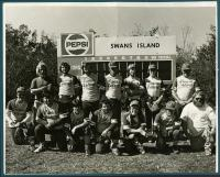 Swan's Island softball team, ca. 1978