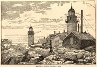 Matinicus Rock lights, Penobscot Bay, 1891