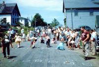 Potato races, Swans Island, ca. 1950