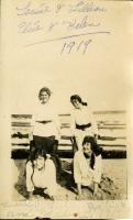 Wheelbarrow race, Swan's Island, ca. 1919