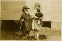 Dressing up, Swans Island, ca. 1930