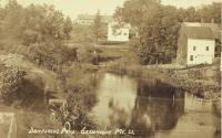 Danforth Pond, Skowhegan, 1910