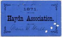 Haydn Association Membership Ticket